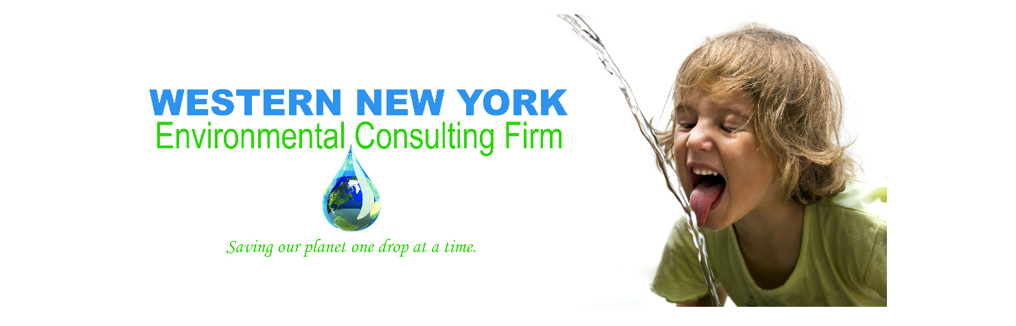 Westen New York Environmental Consulting Firm Boy drinking pure clean water