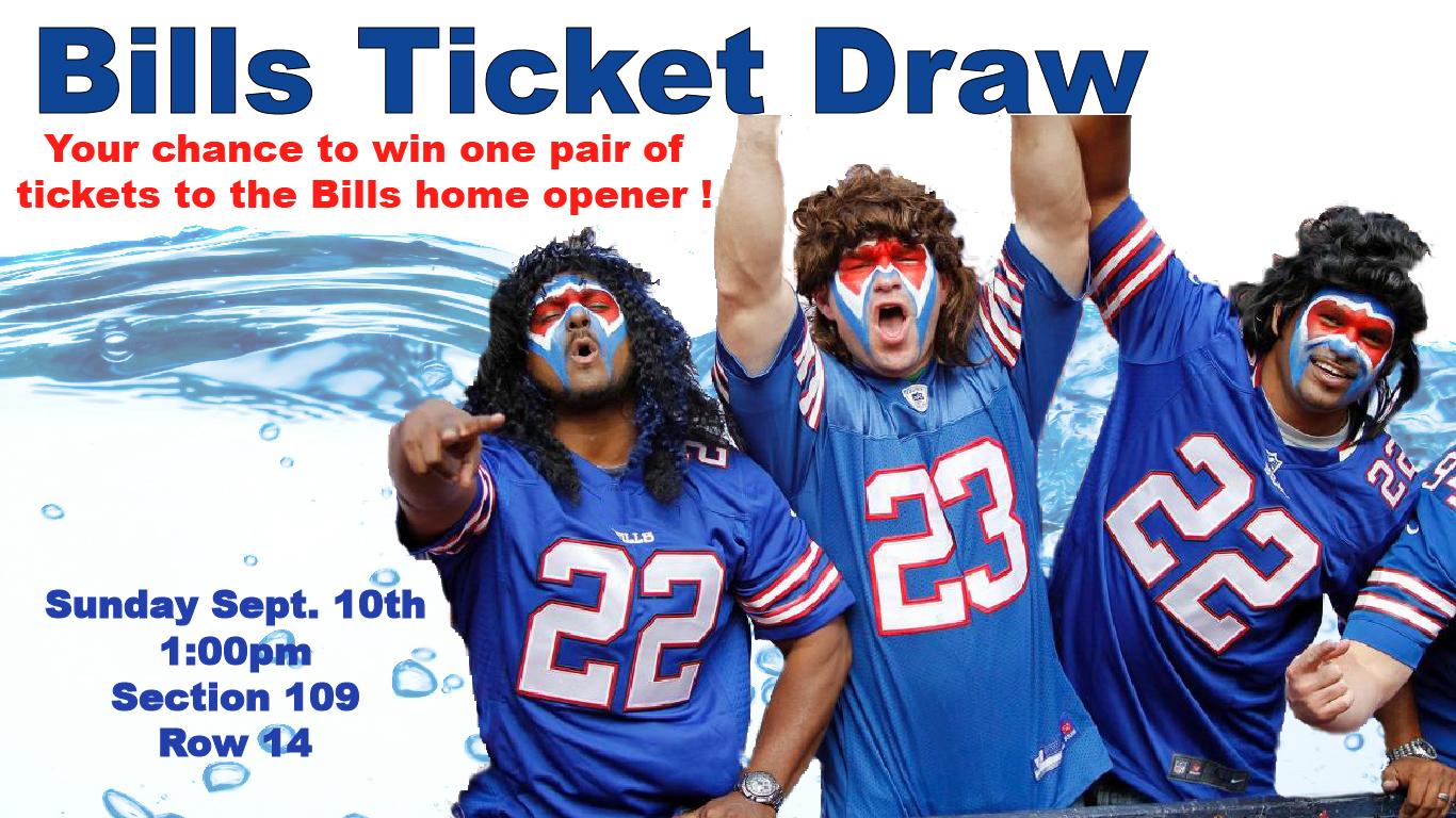 Win tickets to the Buffalo Bills Home Opener