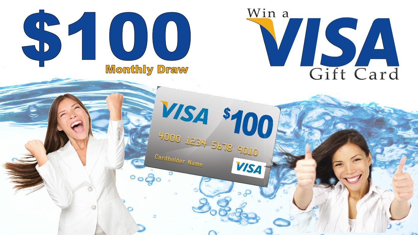 WNY Enviromental monthly visa card draw
